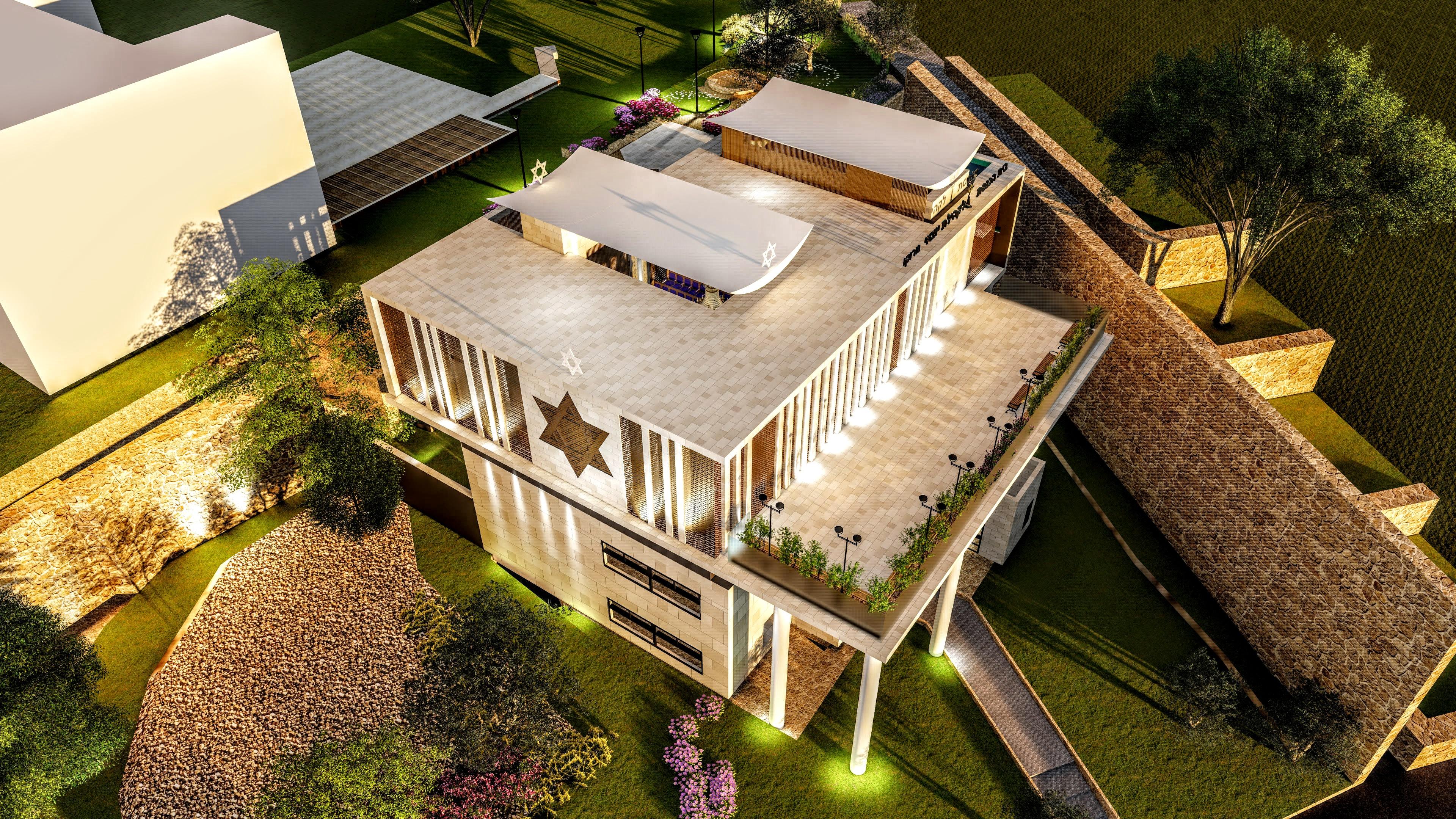 תכנון מבני קדושה/ תכנון בתי כנסת / תכנון מבני ציבור