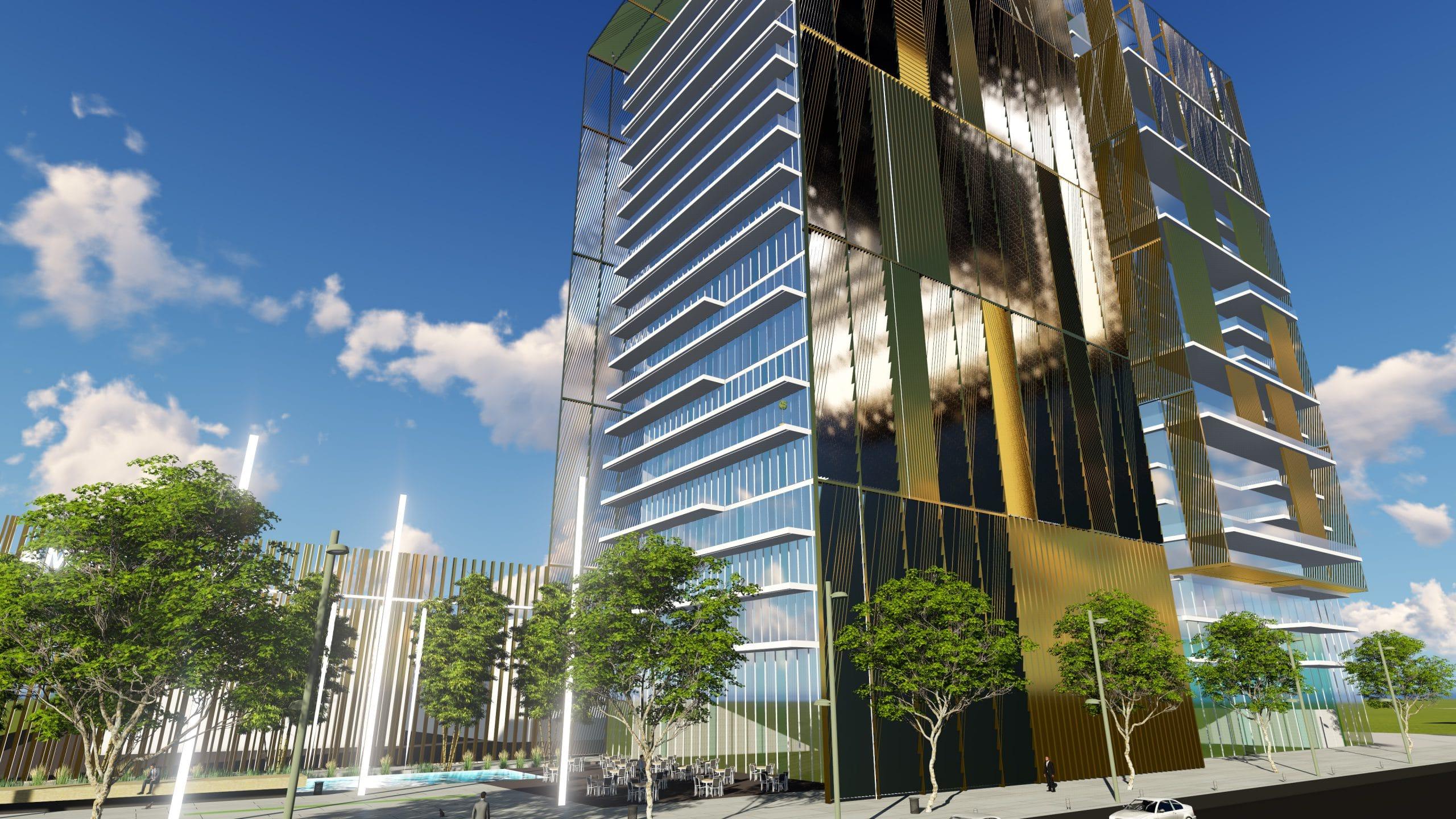 אדריכל מגדלי משרדים