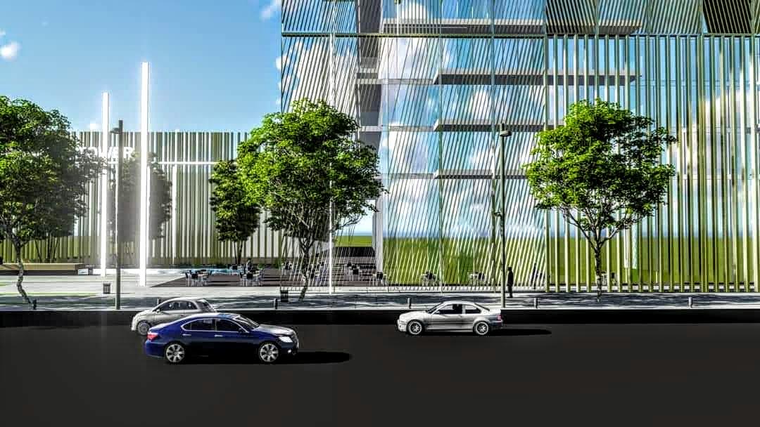 תכנון מבנה מסחר ומשרדים פתח תקווה