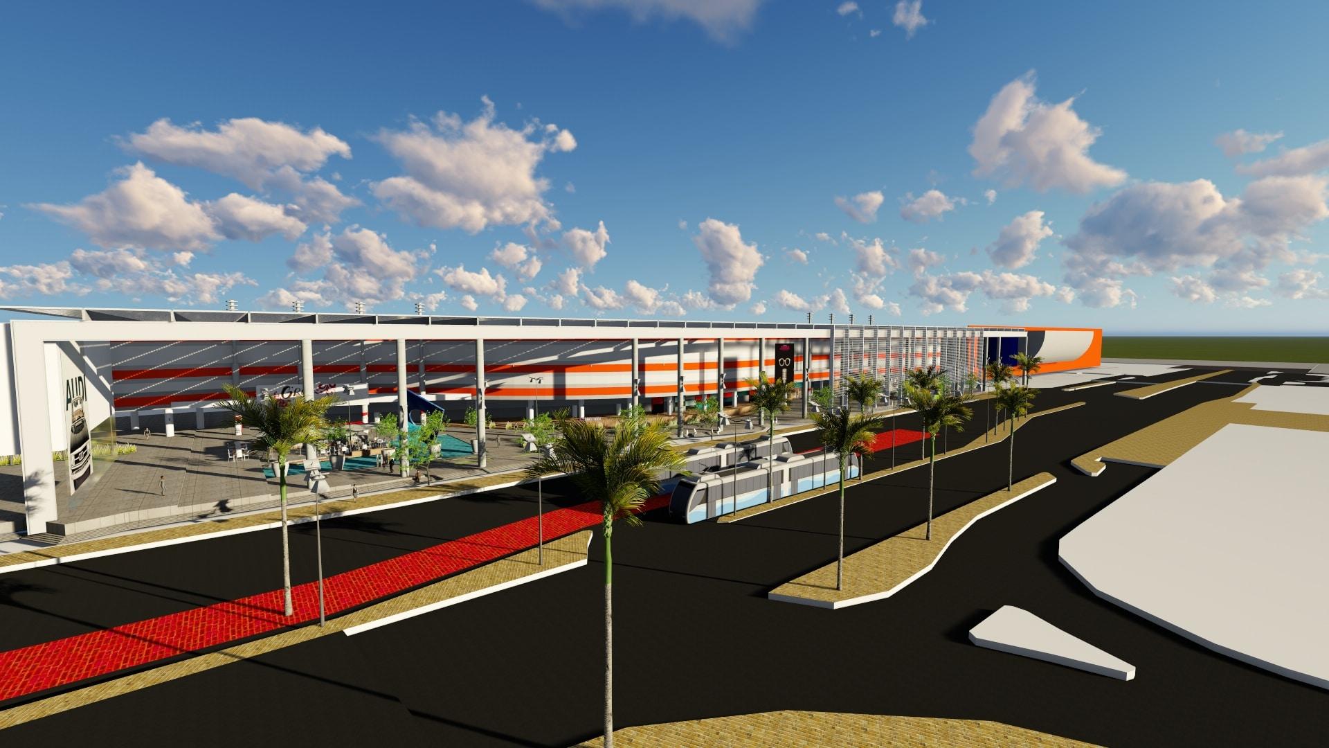 תכנון מרכז קניות
